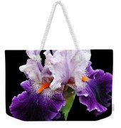 Shades Of Violet Weekender Tote Bag