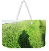 Shadow In The Grass Weekender Tote Bag