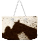 Shadow Of Horse And Girl Weekender Tote Bag