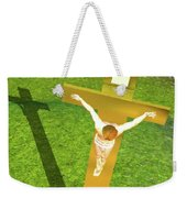 Shadow Of The Christ Weekender Tote Bag