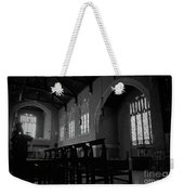 Shadow Of The Empty Chairs Weekender Tote Bag