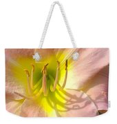 Shadow On The Petals  Weekender Tote Bag