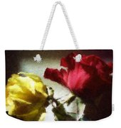 Shadow Roses Weekender Tote Bag