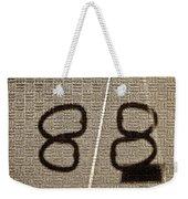 Shadow Study No.88 Weekender Tote Bag