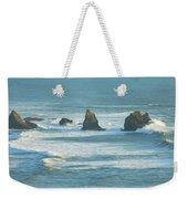 Shadowed Waves Weekender Tote Bag