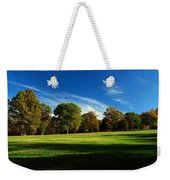 Shadows And Trees Of The Afternoon - Monmouth Battlefield Park Weekender Tote Bag