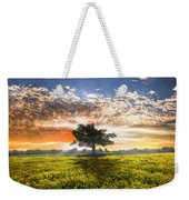 Shadows At Sunset After The Rain Weekender Tote Bag