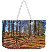 Shadows In Autumn Weekender Tote Bag