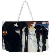 Shadows In The Rain Weekender Tote Bag