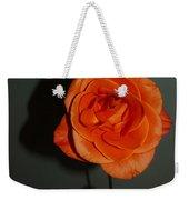 Shadows Of A Peach Rose Weekender Tote Bag