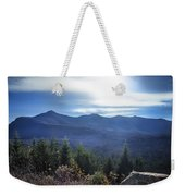 Shadows Of The Majestic , White Mountains Weekender Tote Bag