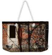 Shadows - Old Farmhouse - Hen Weekender Tote Bag