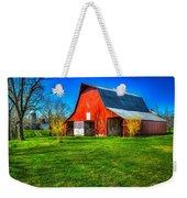 Shadows On The Barn Tennessee Farm Art Weekender Tote Bag