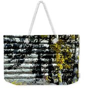 Shadows On The Past Posterized Weekender Tote Bag