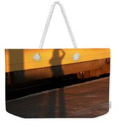 Shadows On The Platform 2 Weekender Tote Bag