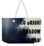 Shadows Weekender Tote Bag