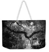 Shadowy Pathway Weekender Tote Bag