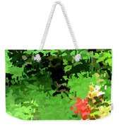 Shady Composition Weekender Tote Bag