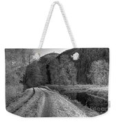Shady Trail Tonemapped Weekender Tote Bag