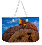 Shaft Of Sun Through The Keyhole Weekender Tote Bag