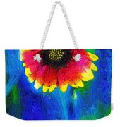 Shaggy Moon For A Shaggy Flower Weekender Tote Bag