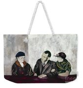Shahn: Man & Women Weekender Tote Bag