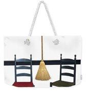Shaker Chairs And Broom Weekender Tote Bag