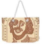 Shakespeare Weekender Tote Bag