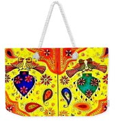 Shalimar Birds - Jinga Bird Weekender Tote Bag