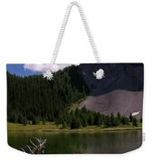 Shallow Mountain Lake Weekender Tote Bag