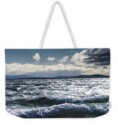 Shallows And Depths Of Adventure Bay Weekender Tote Bag