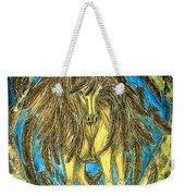 Shaman Spirit Weekender Tote Bag by Kim Jones