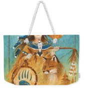 Shaman's Path Weekender Tote Bag