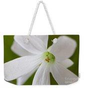 Shamrock Blossom Weekender Tote Bag