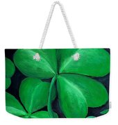 Shamrocks Weekender Tote Bag