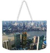 Shanghai By The River Weekender Tote Bag