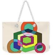 Shapeplay40clr Weekender Tote Bag