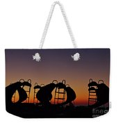 Shapes In The Dawn Weekender Tote Bag by Jeremy Hayden
