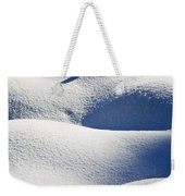 Shapes Of Winter Weekender Tote Bag