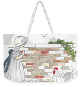 Shara And The Rooster Weekender Tote Bag