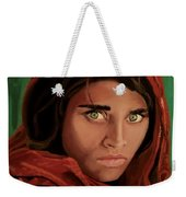 Sharbat Gula From Nat Geo Mccurry 1985 Weekender Tote Bag
