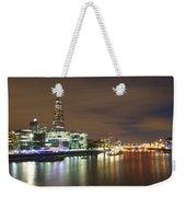 Shard From Tower Bridge London Weekender Tote Bag