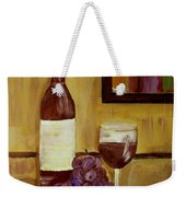 Sharing A Glass Weekender Tote Bag