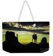 Sharing A Monument Valley Sunrise Weekender Tote Bag