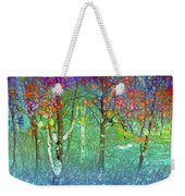 Sharing Colours And Dreams Weekender Tote Bag
