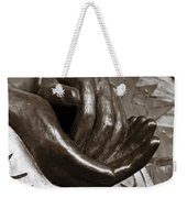 Sharing Hands Weekender Tote Bag