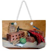 Sharing Lunch Break Weekender Tote Bag