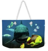 Shark And Fishes Weekender Tote Bag