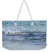 Shark Catching A Fish Weekender Tote Bag