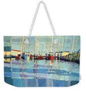 Shark River Inlet Weekender Tote Bag